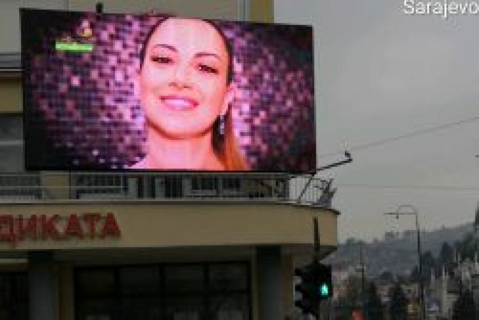 LED Display Skenderija Pozicija 1